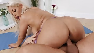 Playful mom fuck in ass from behind