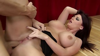 Ass mom porn with a big-boobed doll