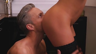 Glamorous mom hot blowjob tube action