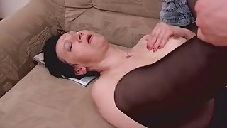 Stunning Russian brunette gets nicely fucked