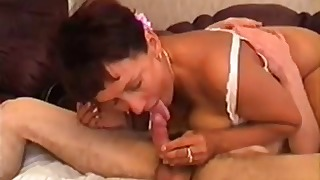 Russian mom xxx vintage dick riding